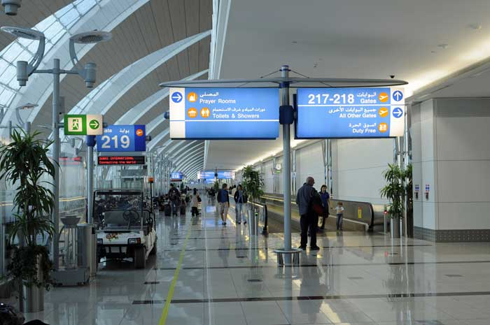 10 tips to get through quickly Dubai International Airport