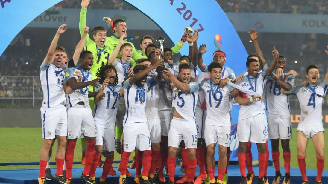 England win Under-17 World Cup