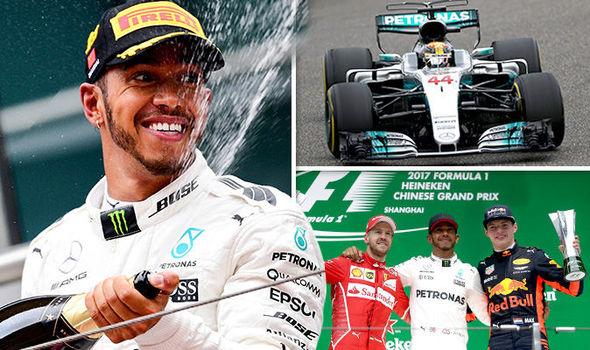 F1 World Championship Won By Lewis Hamilton 2017