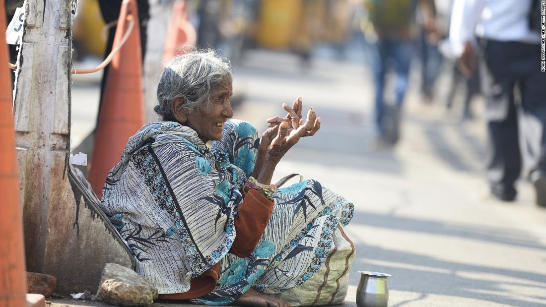 India rounds up beggars ahead of Ivanka Trump's visit in Hyderabad