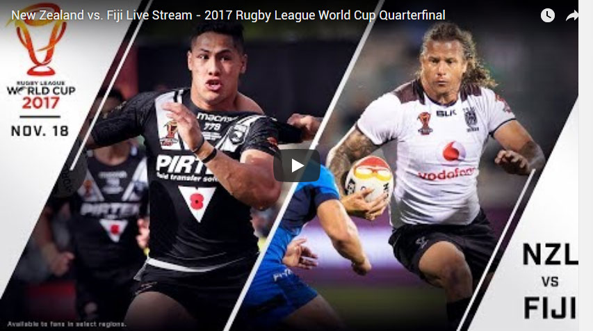 Lebanon vs Tonga Live Stream Video - 2017 Rugby League World Cup Quarterfinal