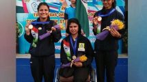 Rubina Francis of Madhya Pradesh Shooting Academy creates history