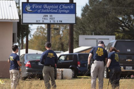 Texas Church Massacre Shooting Caught