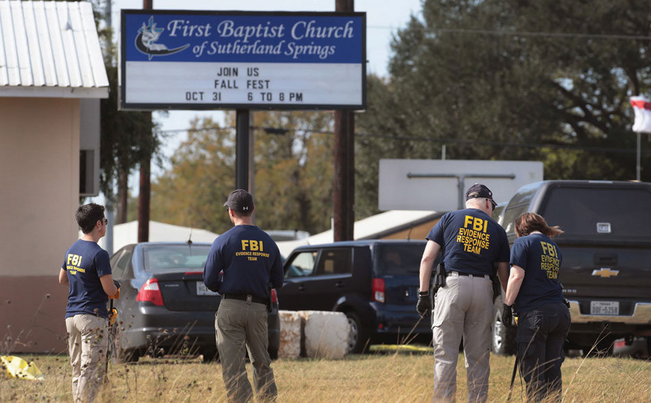 Texas Church Massacre Shooting Caught