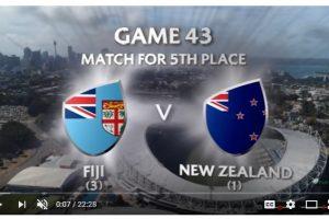 New Zealand vs Fiji 5th Place Final Sydney Sevens 2018