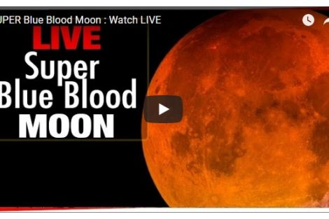 The super blue blood moon makes first appearance since 1866