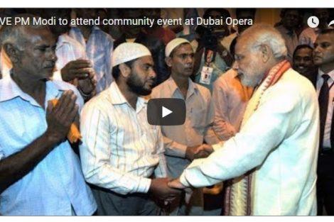 LIVE PM Modi to attend community event at Dubai Opera
