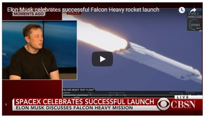 Live - SpaceX launches world's most powerful rocket