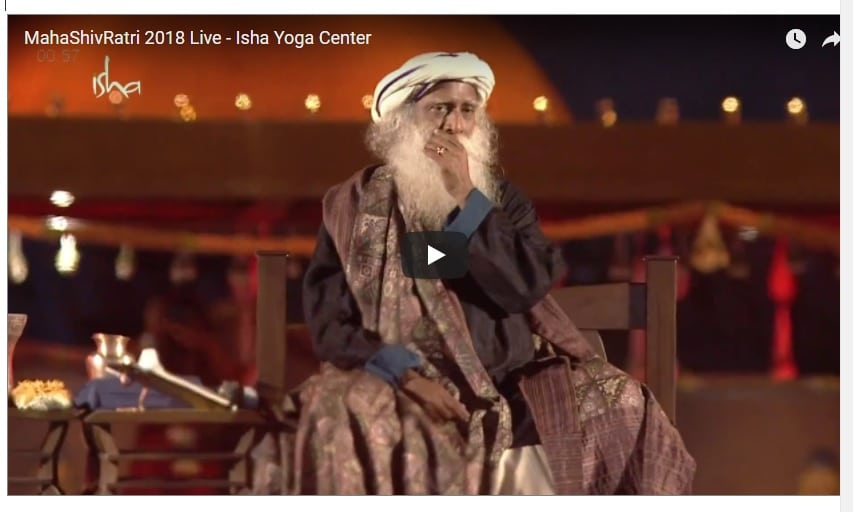 Live Video- Isha Yoga Center - MahaShivRatri 2018