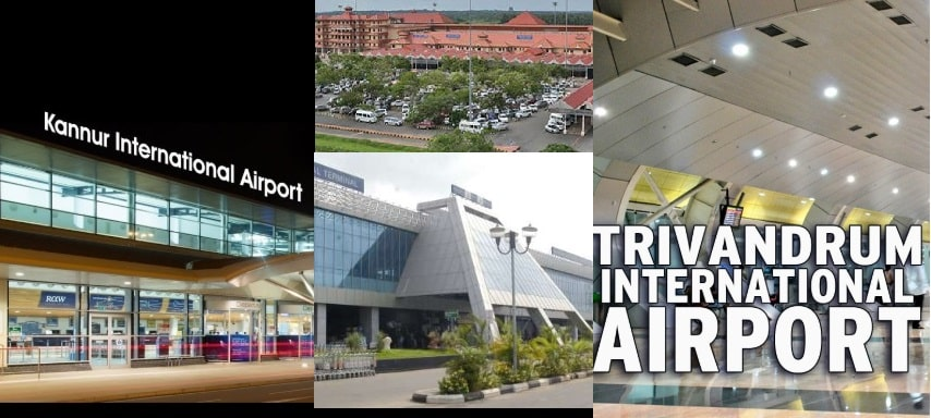 First State in India to have 5 International Airport in Kerala
