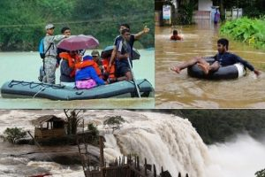 Kerala flood Updates - Kochi airport Suspends its Operations, 33 more dams opened