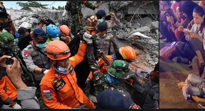 Indonesia earthquake Latest updates - Death toll reach to 833 in region
