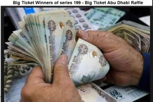 Big Ticket Winners of series 199 - Big Ticket Abu Dhabi Raffle