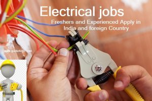 Electrical jobs- Freshers and Experienced Apply in India and foreign Country www.guide4info.com