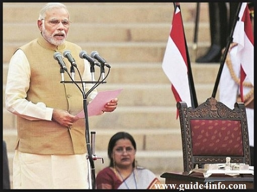 Live PM Modi Oath www.guide4info.com Taking Ceremony
