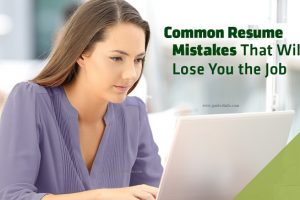 Common Resume www.guide4info.com Mistakes