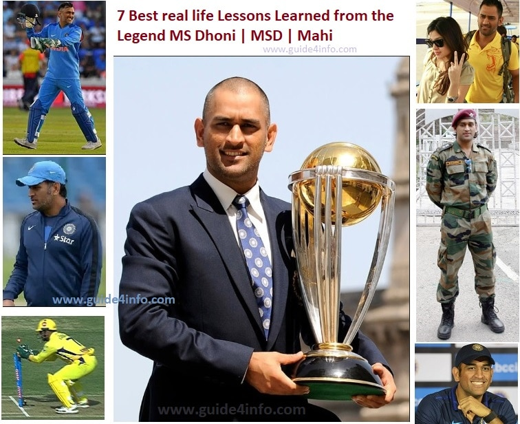 Best Lessons Learned from the Legend MS Dhoni