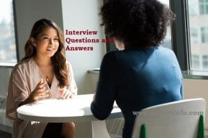 Interview Questions www.guide4info.com Answers