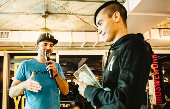 Santiago Lopez during Hackerone interview