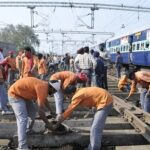 IIT Shravan Kumar doing trackman job www.guide4info.com in Railways