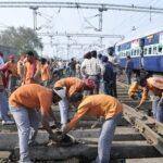 IIT Shravan Kumar doing trackman job www.guide4info.com in Railways