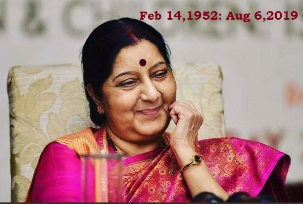 Toughest task done Only by Sushma Swaraj