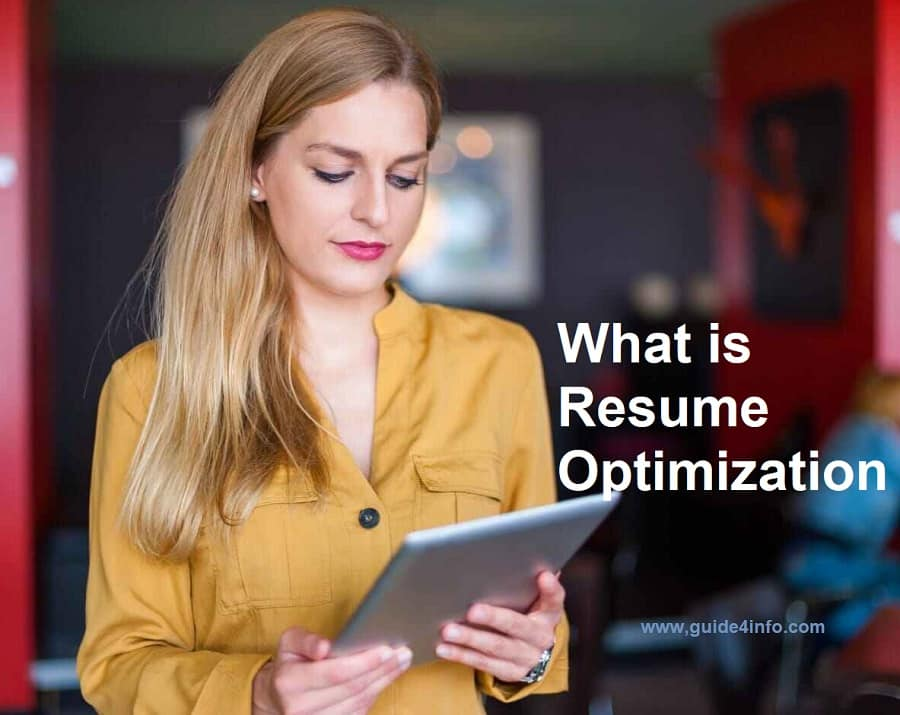 What is Resume Optimization