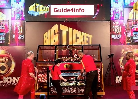 Big Ticket Series 218 Winners by Guide for info