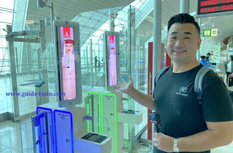Eye Scan at Dubai Airport-Guide for info