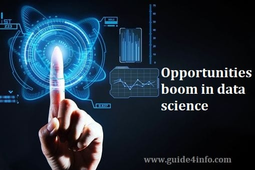 Opportunities boom in data science