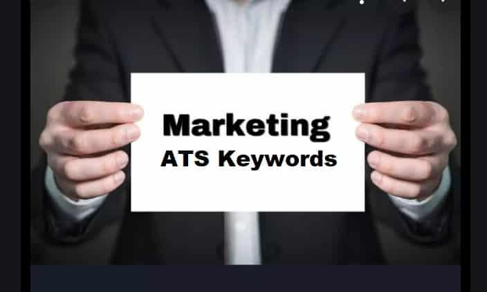 Application Tracking System Keywords for Marketing