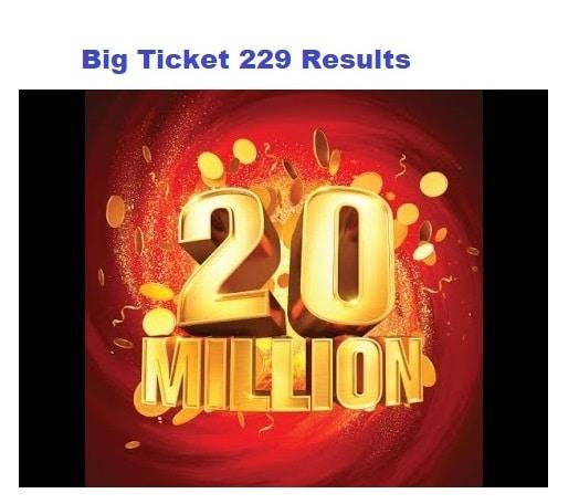 Big Ticket 229 Results