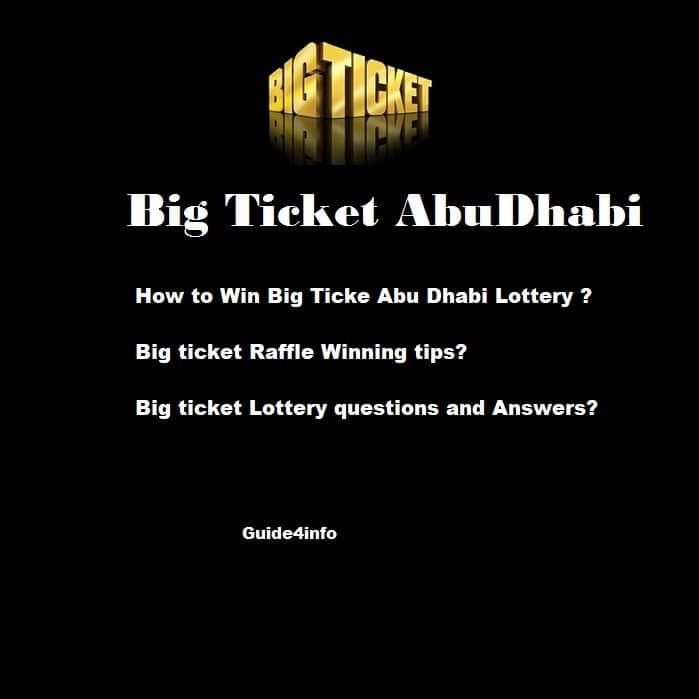 The ultimate guide to Big Ticket Abu Dhabi2